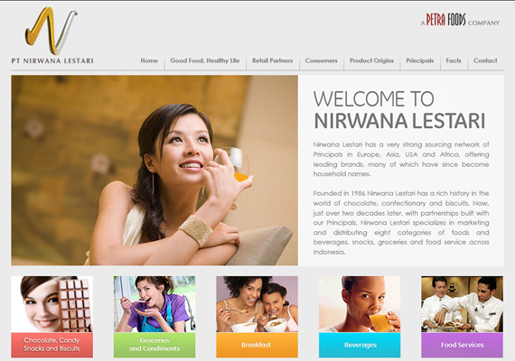 Nirwana Lestari specializes in marketing and distributing eight categories of foods and beverages, snacks, groceries and food service across Indonesia.